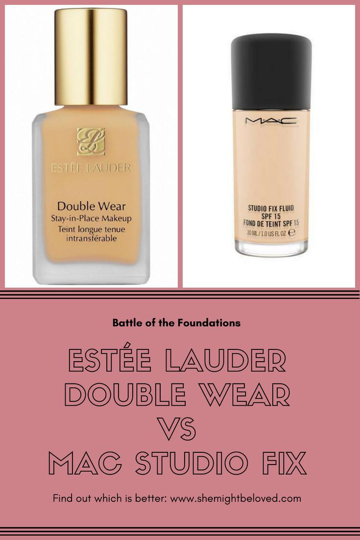 Estee Lauder Double Wear Vs Mac Studio Fix She Might Be Loved